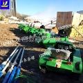 环保型油电雪地坦克车 双人越野坦克车 加厚履带式耐