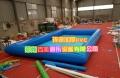 充气垫水池摸鱼池0.9加厚PVC布可用卡尺测量