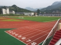 广州台山学校新国标13MM厚混合型塑胶跑道建设造价