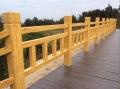 济源不砍伐就能用上的仿木栏杆、仿木护栏厂家价格
