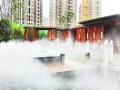 成都人造雾水景景区环保节能全自动高压景观喷雾系统