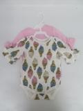 外贸原单新生儿棉弹哈衣爬衣,婴儿连体服