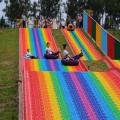 景区七色彩虹滑道设备出售