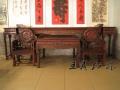 红木中堂家具木板不易变形