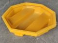 单桶盛漏托盘 特厚防渗漏托盘 油桶防泄漏托盘