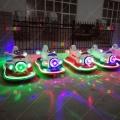 儿童战斗机双人豪华彩灯碰碰车热销游乐设备飞机玩具车