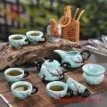 开业礼品陶瓷茶具套装厂家