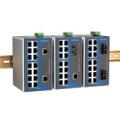 MOXA 16口工业网管交换机