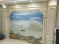 贵州贵阳石塑水转印背景墙3D打印画