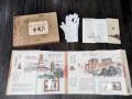 《大西安》丝绸邮票纪念册陕西特色送朋友家呢收藏礼品