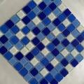 游泳池玻璃水晶马赛克批发厂拼图生产