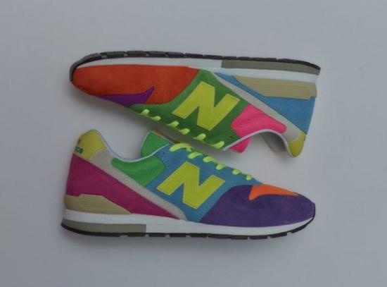 NB联名六大品牌 变花样演绎996鞋款