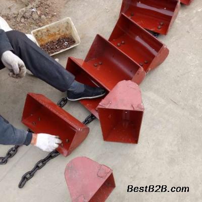 钢丝绳芯胶带斗提机 多用途 非标定制斗式输送机