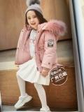 米琪童小鸭北京高端品牌羽绒服折扣货源直播批发