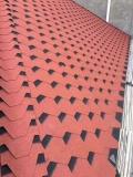 北京沥青瓦屋面防水自粘油毡瓦彩色玻纤瓦别墅瓦厂家