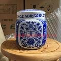 供应装500克豆腐乳的陶瓷罐子 青花瓷密封罐