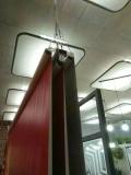 厂家定制电动升降喷绘背景幕布