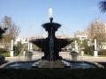 黑龙江喷泉铜雕塑 别墅小区铜喷水花钵雕塑加工