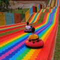 网红彩虹滑道坡度设计与规划 专业厂家