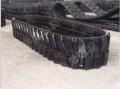 微型橡胶履带 小型挖掘机橡胶履带现货供应厂家定制