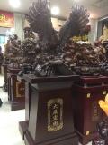 雄鹰展翅大摆件 西安周年庆典落地工艺品摆件 未央区