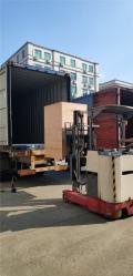提升设备木箱包装过程设备在木底托上固定措施