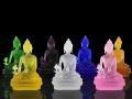 拉萨扎吉拉姆寺庙佛像供养琉璃如来佛琉璃药师佛