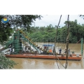 河道淘金船 链斗式淘金船价格
