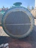 卖二手60平方钛材质冷凝器