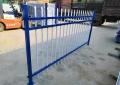 锌钢可视栅栏 小区彩色围墙护栏 锌钢围墙护栏