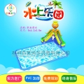 宁夏固原户外小型充气水乐园章鱼戏水水滑梯组合玩具