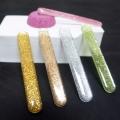 厂家直销滴胶闪粉指甲锉 玻璃锉条 纳米玻璃挫
