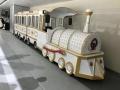 成都轨道托马斯小火车景区商场电动无轨观光小火车租赁