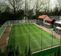 七人制足球场人工草坪平面图