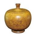 广州御藏:造型古朴 黄釉水滴