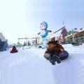 滑雪场与雪地转转 相辅相依 给与快乐收货金钱