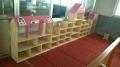 现货供应山东幼儿园玩具柜滨州 玩具架东营 书包架