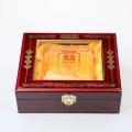 温州铁皮枫斗木盒包装厂家,茶叶木盒包装厂家