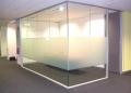 宣武区南菜园安装玻璃隔断安装磨砂玻璃隔断