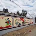 新农村建设UV墙体打印机设备壁画墙体画彩绘机绘画机