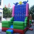 充气攀岩墙大型儿童蹦蹦床城堡滑梯户外拓展项目充气包