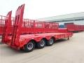 拖拉机大型低平板拖车自产价格
