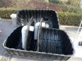 山西省原平市 三格化粪池放心省心 一体式三格化粪池
