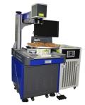 深圳紫外激光打标机KN95口罩标识印刷防伪码打标