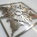 不锈钢屏风激光定制切割加工厂家 不锈钢屏风激光切割