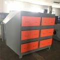 山东淄博废气处理设备活性炭吸附箱结构紧凑一体化