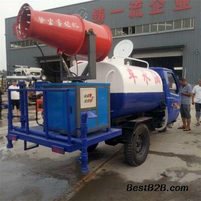 绿化洒水车 小型三轮浇水喷药雾炮多功能洒水车