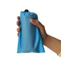 厂家直销野营210T口袋野餐垫便携迷你防水格子布防