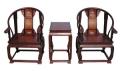 红木太师椅平整润滑 红木太师椅家居代言不能再任性