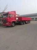 常用13米侧翻自卸半挂车的配置参数和报价表
